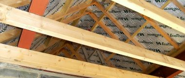 Chris Miller Installs Top Quality Roofing Insulation